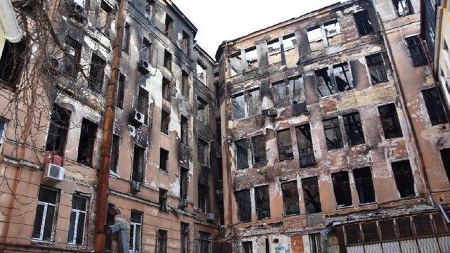 В Одесі вирішили знести будівлю коледжу, де в пожежі загинули 16 людей