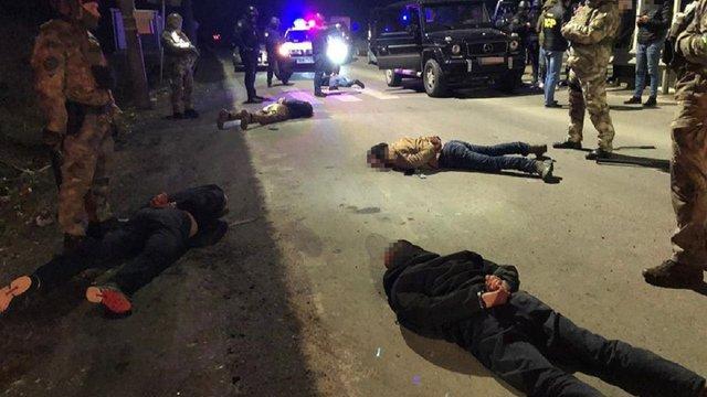 Поліція розповіла подробиці затримання членів львівського ОЗУ у Нижніх Воротах