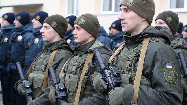 Для забезпечення порядку у Мукачево ввели підрозділи Нацгвардії