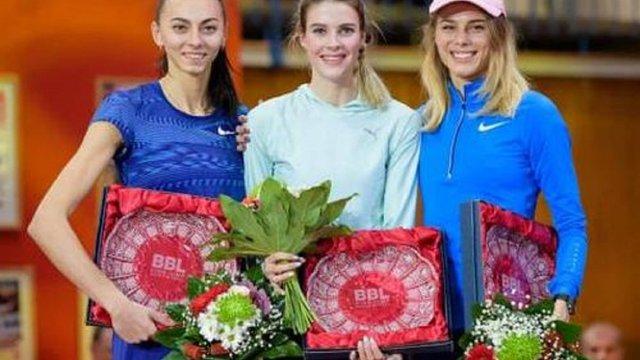Українки забрали усі медалі на міжнародному турнірі з легкої атлетики в Чехії