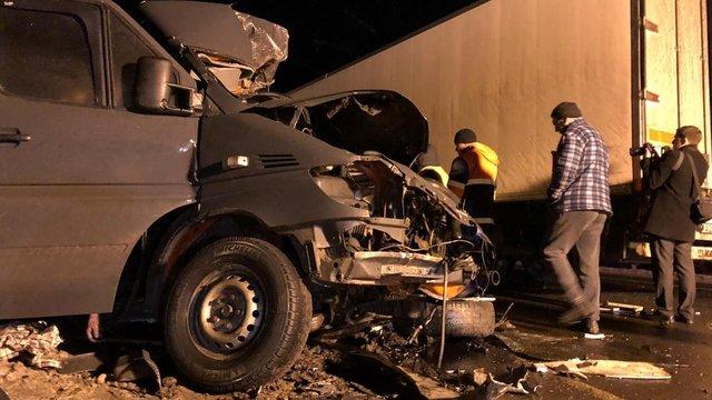 В Росії розбився мікроавтобус з українцями, восьмеро загиблих