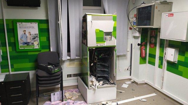 Невідомі підірвали банкомат і викрали 250 тис. грн у Миколаєві