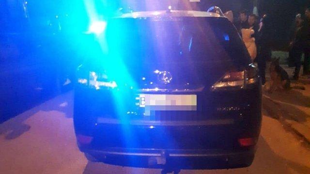 Спецпідрозділ поліції затримував у Львові п'яного віце-президента футбольного клубу