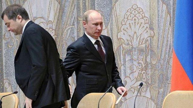 Путін підписав указ про звільнення куратора «ЛНР» і «ДНР» Суркова