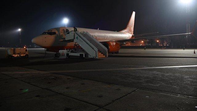 Літак для евакуації українців вилетів із «Борисполя» до китайського Уханя