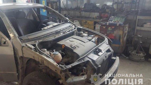 Автомобіль, яким на Львівщині збили на смерть пішохода, виявили на СТО