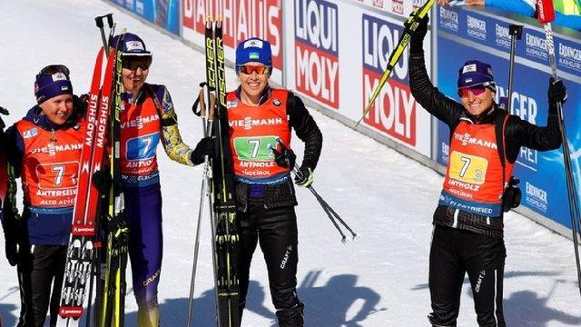 Українські біатлоністки здобули перші медалі на Чемпіонаті світу