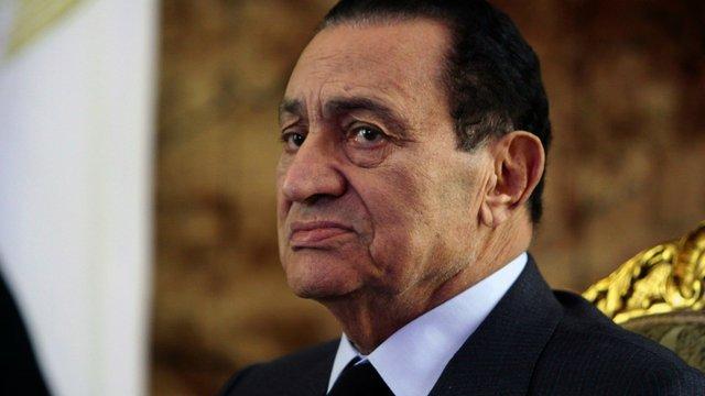 Помер колишній президент Єгипту Хосні Мубарак