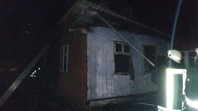 У Дрогобицькому районі під час пожежі загинув 47-річний власник будинку