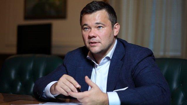 Андрій Богдан віддав на благодійність зарплату за шість місяців в Офісі президента