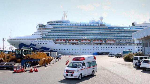 Ще двоє українців з лайнера Diamond Princess інфікувалися коронавірусом