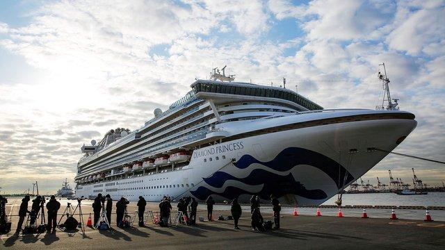 Українка з круїзного лайнера Diamond Princess вилікувалась від коронавірусу