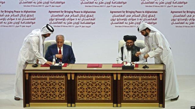 США підписали мирну угоду з «Талібаном»