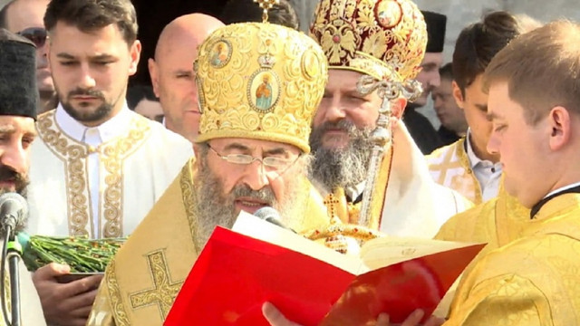 Глава УПЦ МП очолив масштабний протест сербської церкви в Чорногорії
