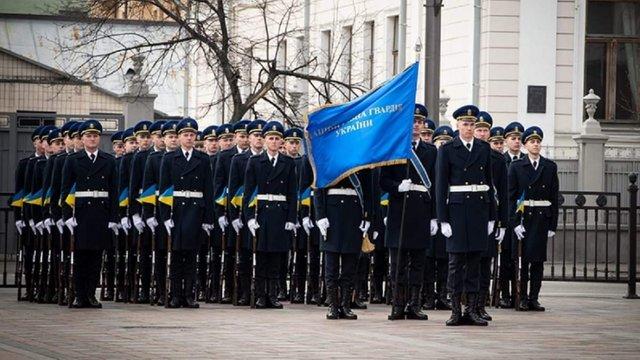 Нацгвардія нестиме біля Верховної Ради почесну варту з підняттям прапора