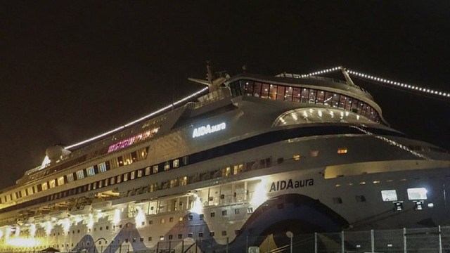 Німецький круїзний лайнер Aida Aura з 1200 пасажирами відправили на карантин в Норвегії