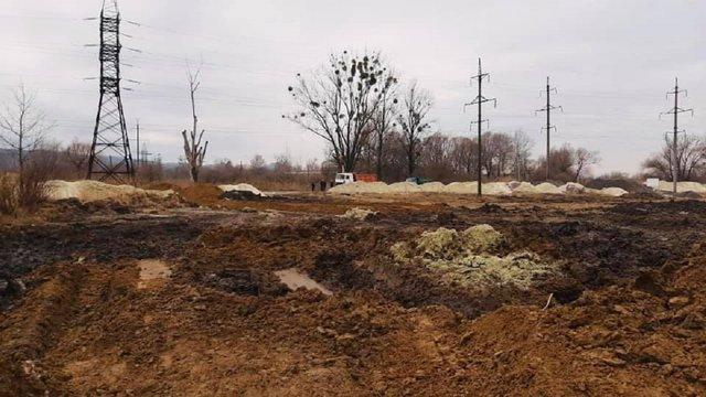 У Львові намагались зупинити підготовчі роботи з будівництва сміттєпереробного заводу