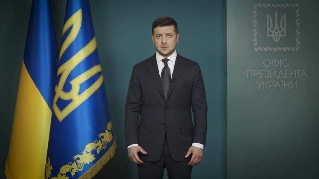 Зеленський звернувся до українців через ситуацію довкола коронавірусу