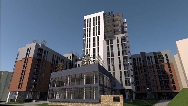 Трикотажній фабриці дозволили збудувати 13-поверховий комплекс на вул. Шевченка  у Львові