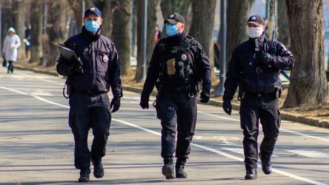 Поліція склала понад 1400 адмінпротоколів за порушення карантину