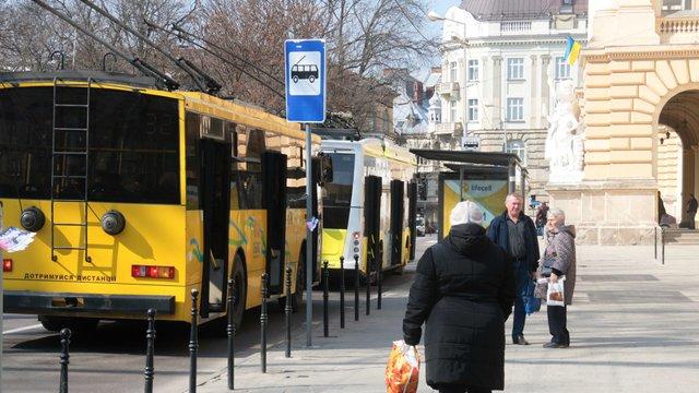 У львівській мерії розповіли, як курсуватиме транспорт після введення надзвичайного стану