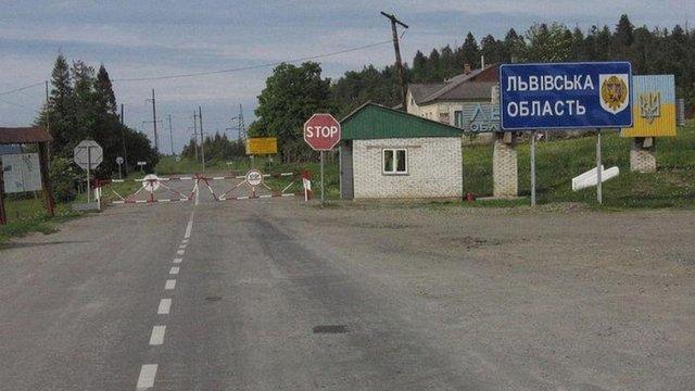 Закарпаття закрило дві траси на межі з Львівщиною та Івано-Франківщиною