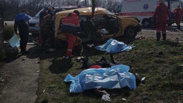 У ДТП на перехресті біля Червонограда загинули троє людей
