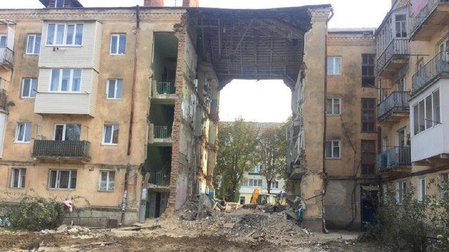 Уряд виділив 40,7 млн грн мешканцям обваленого будинку у Дрогобичі