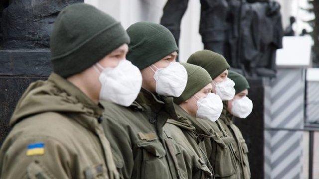 Через коронавірус понад 100 українських військових перебувають на ізоляції