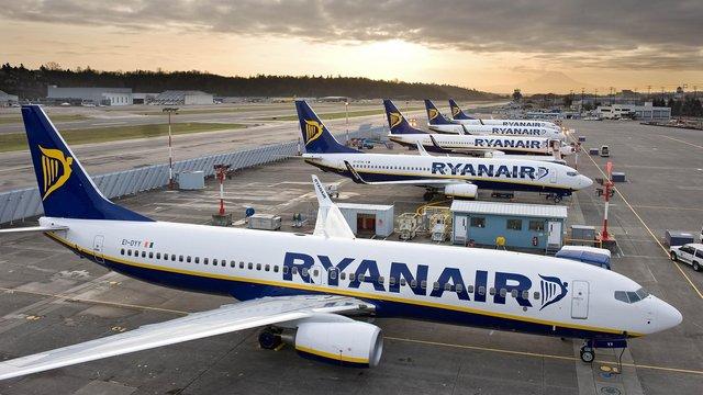 Ryanair отримав дозвіл на польоти зі Львова і Києва в Італію
