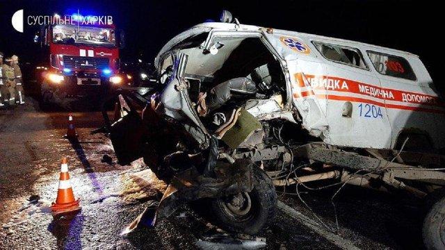 У Харкові в ДТП за участю автомобіля швидкої допомоги загинули троє людей