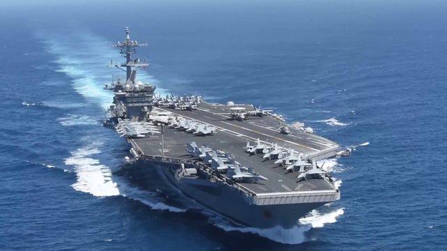 На борту авіаносця США у 550 військових моряків виявили коронавірус