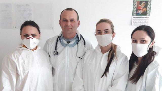 «Укргазвидобування» на 100% забезпечило стрийських медиків захисними костюмами