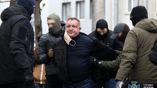 Генерал-майора СБУ Валерія Шайтанова затримали за роботу на ФСБ