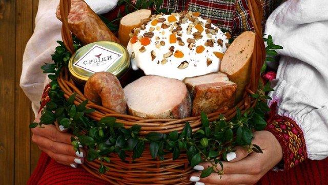 Мешканці Львівщини можуть замовити онлайн великодній кошик із продукцією місцевих виробників