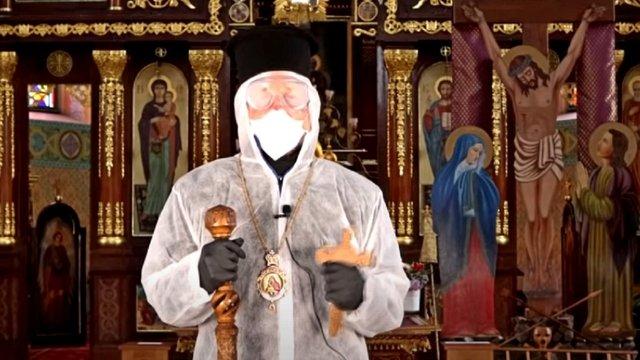 Єпископ УГКЦ у захисному костюмі закликав вірян святкувати Великдень вдома