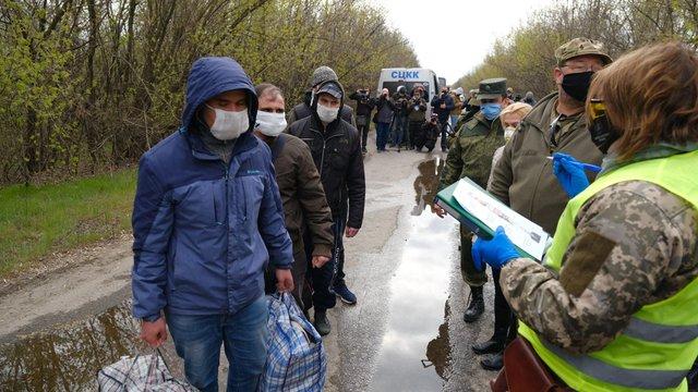 Офіс президента опублікував список звільнених з полону бойовиків українців
