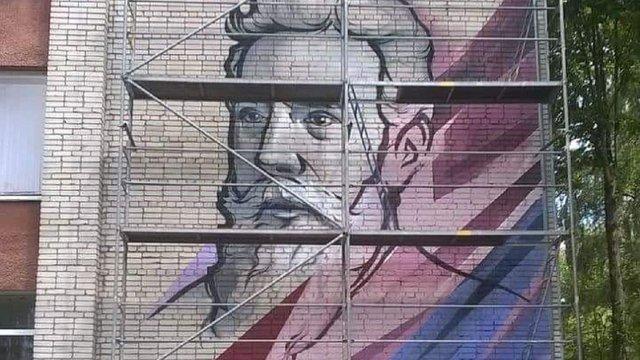 На Сихові намалюють п'ять муралів з портретами відомих українців