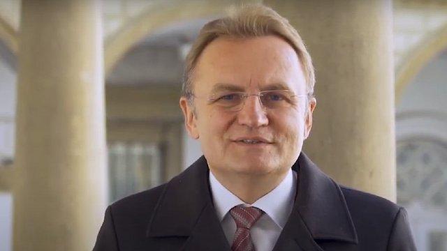 У великодньому привітанні Андрій Садовий закликав львів'ян подбати про самотніх