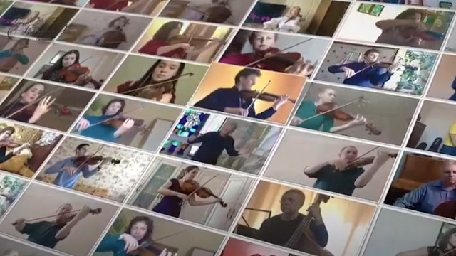 Оркестри зі Львова та Маріуполя виконали «Мелодію» Скорика в умовах ізоляції