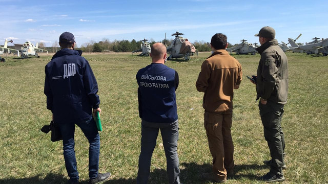 Військовослужбовців двох частин на Львівщині викрили на викраденні деталей до гелікоптерів