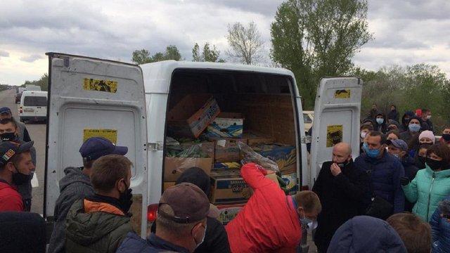 Фермери влаштували масовий протест на Херсонщині через закриття ринків