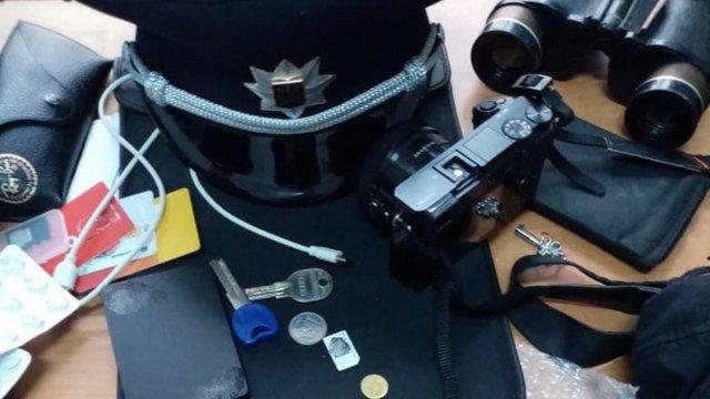 У львівському парку затримали 21-річного тернополянина у формі поліції