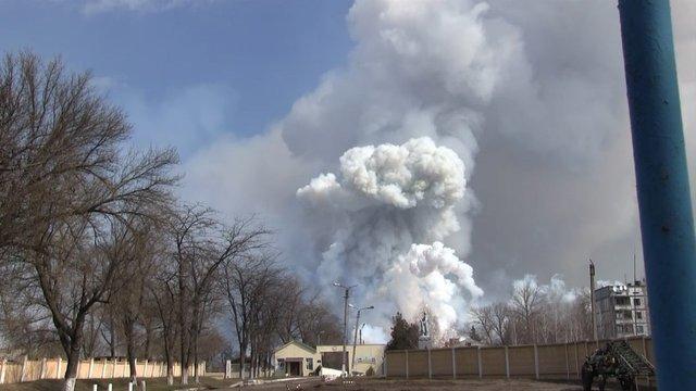 Слідча комісія заявила про непричетність росіян до пожежі військових складів у Балаклії