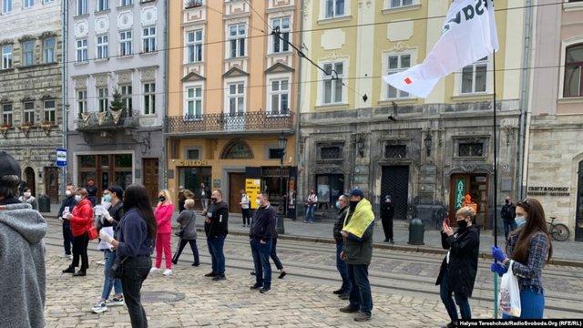 Організатора протесту проти карантину у Львові покарали за порушення карантину