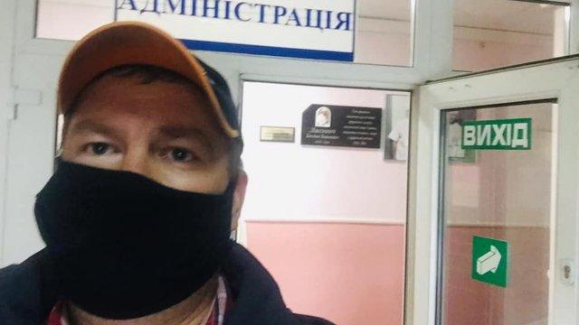 Львівська лікарня поскаржилась на провокаторів, які вдають із себе хворих
