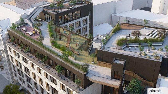 Містобудівна рада погодила готель з громадським простором на даху у центрі Львова