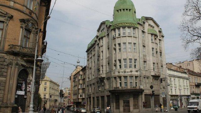 Історичну будівлю банку у центрі Львова перетворили на бізнес-центр