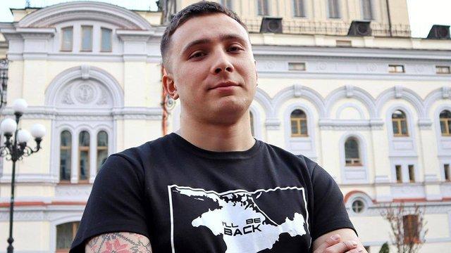 СБУ визнала активіста Сергія Стерненка потерпілим у справі про замах на нього