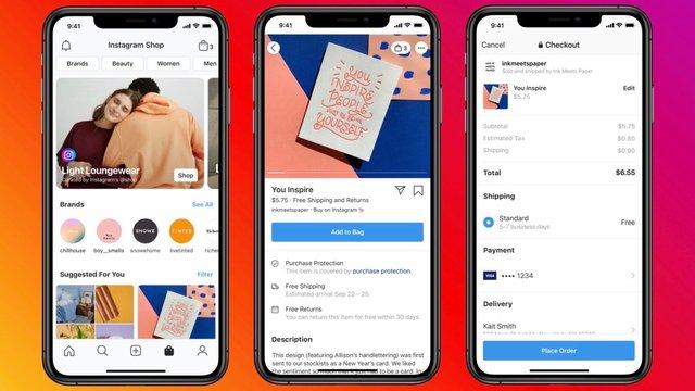 Facebook та Instagram запустили сервіс онлайн-магазинів